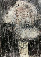 17.FIVE GREAT LEADERS-1 43.3''x31.1'' 110x79cm acrylic on paper 2018